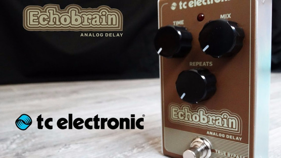 Pedal Delay Tc Electronic Echobrain Analog Delay + Nf Full
