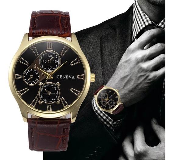 Relógio Masculino Luxo Original Promoção