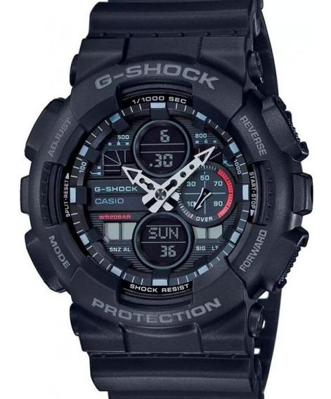 Relógio Casio G-shock Preto Ga-140-1a1dr + Garantia + Nfe