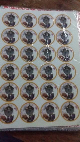 Lamina Comestible Para Cupcakes De Comunion