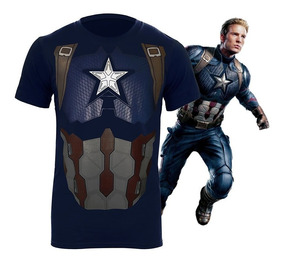 Playera Capitán América Endgame Avengers End Game Ironman