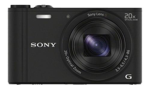 Sony Cyber-shot WX350 compacta color negro