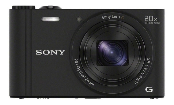 Sony Cyber-shot WX350 compacta color negro