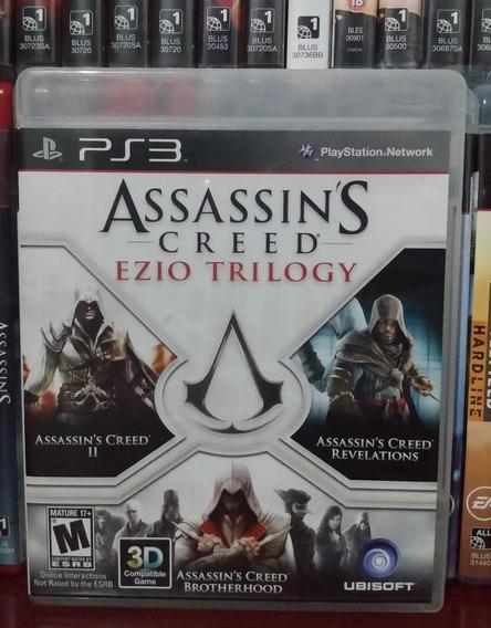 Assassins Creed Ezio Trilogy Ps3   Parcelamento Sem Juros