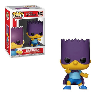 Muñeco Funko Pop Los Simpsons Bart-bartman 503 Original