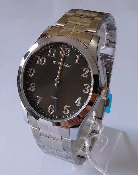 Relógio Masculino Mondaine Prateado Original 99192gomvne1.