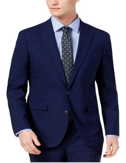 Terno Masculino Azul Slim