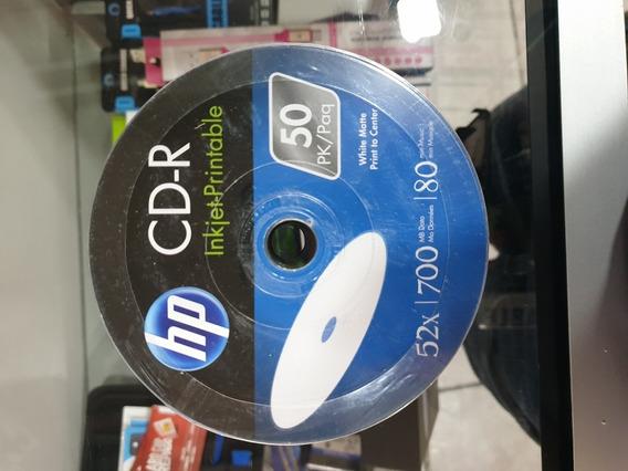 Cd Imprimible Hp 100 Unidades