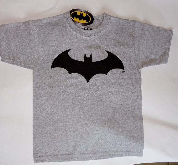 Playera Batman Niño Dc Comics Original Envio Gratis