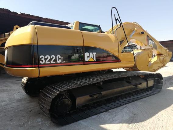 Excavadora Caterpillar 322c