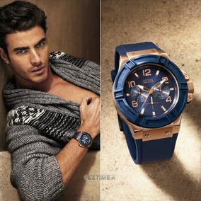 e1e246dc61d0 Relojes Hombre Guess - Relojes Pulsera Masculinos Guess en Mercado ...