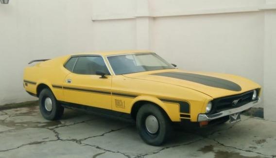 Mustang Fastback 72