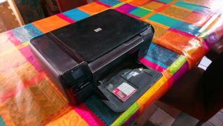 Hp Photosmart C4780 Multifuncion Usada Negra A Reparar