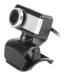 Webcam Brazilpc V4 1.5m Com Microfone Preto/prata