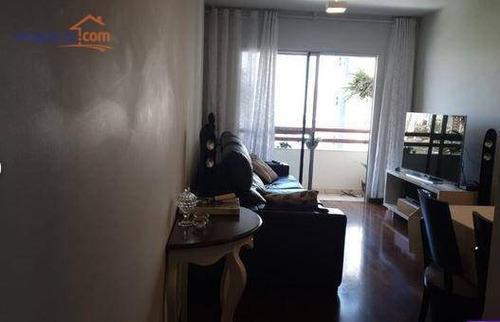 Imagem 1 de 18 de Apartamento Com 3 Dormitórios À Venda, 92 M² Por R$ 495.000,00 - Vila Ema - São José Dos Campos/sp - Ap13284