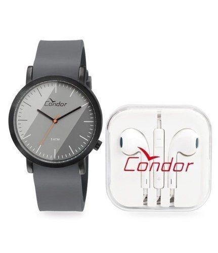 Kit Relógio Masculino Condor Co2035ktq/k2c