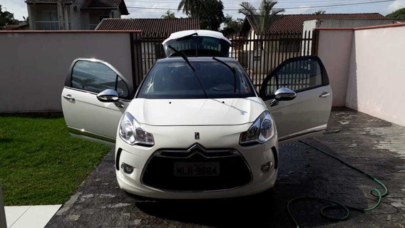Citroen Ds3 Turbo- Motor 1.6 - 2013 Branco- 3 Portas