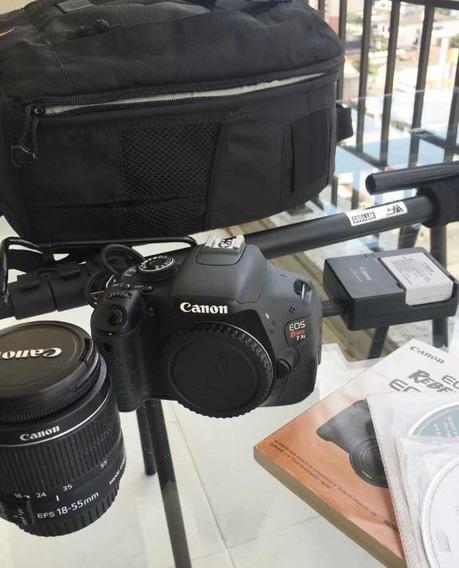 Câmera Canon Eos Rebel T3i Profissional