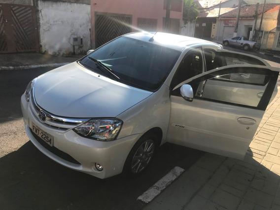 Toyota Etios Hb Xls15 Automatico Topo De Linha + Couro