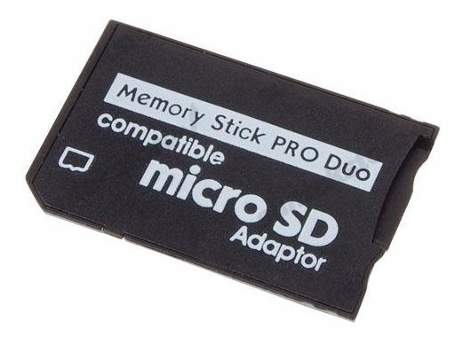 Adaptador Micro Sd Memory Stick Ms Pro Duo - Psp Câmera Psp
