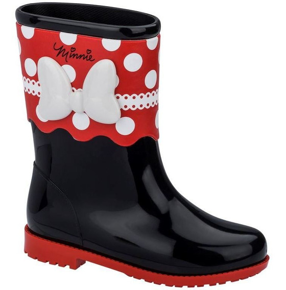 Grendene Disney Magic Boot 22210 Galocha Bota Minnie Mouse