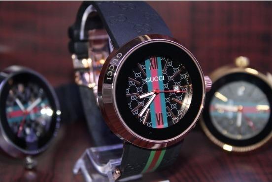 Relógio Unissex Gucci Com Data Funcional Promoçao