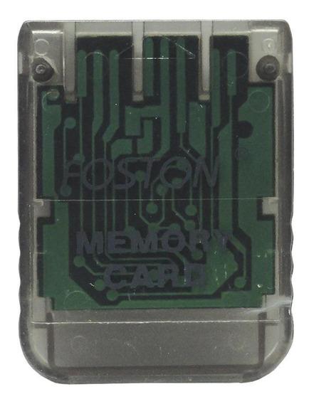 Cartão De Memória Memory Card Foston Playstation 1 Paralelo