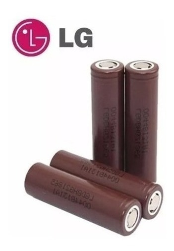 4x Bateria Lg Hg2 3000mah 20a 3,7v Mod 18650