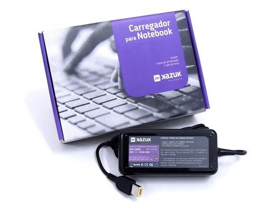 Fonte Carregador Notebook - Lenovo 20v 3.25a Slim Tip Kazuk