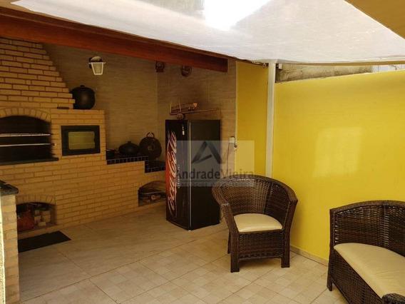 Linda Casa Com 2 Dormitórios À Venda, 105 M² Por R$ 371.000 - Loteamento Residencial Novo Mundo - Campinas/sp - Ca0342