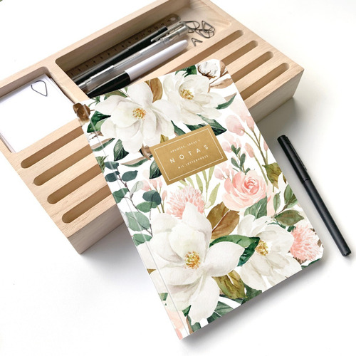 Cuaderno Rayado Magnolia A5 - Mil Letterpress