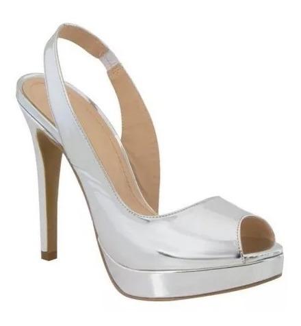 Sandalia Fashion Sint Boca De Pez Alto 12 Cm. Pdca186522