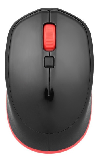 Optical Office Mouse 4 Botões Para Pc Laptop Preto