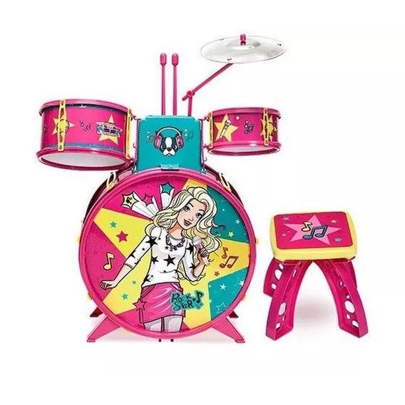 Bateria Fabulosa Barbie - Fun
