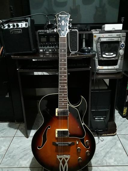 Guitarra Ibanez Artcore Ak80bs Frete Grátis !!!