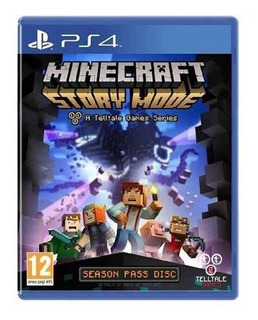 Minecraft: Story Mode Ps4 - Juego Fisico - Prophone
