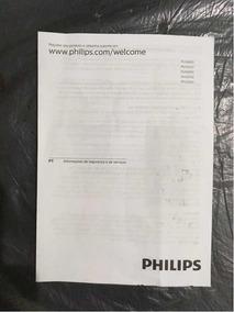 Manual De Instruções Das Tvs Philips 32p E 43p.