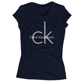 Playera Calvin Klein Para Mujer