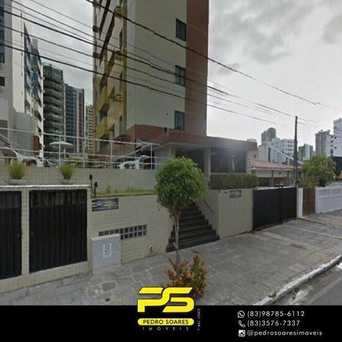 Apartamento Com 2 Dormitórios À Venda, 55 M² Por R$ 269.000 - Manaíra - João Pessoa/pb - Ap4221