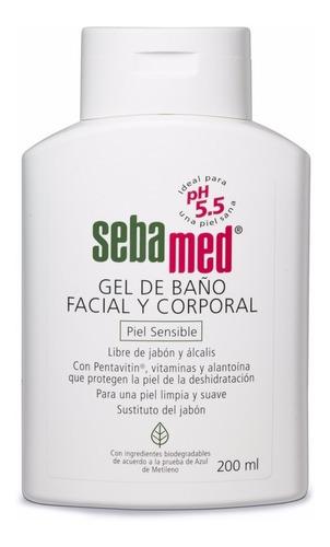 Gel Baño Facial Y Corporal Sebamed Para Piel Sensible 200ml