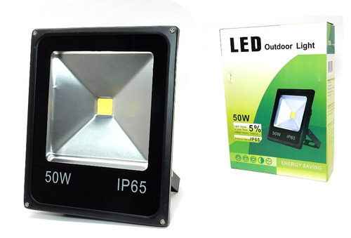 Foco Reflector Led 50w Luz Fria Exterior U$s16c/u Xmayor $cm