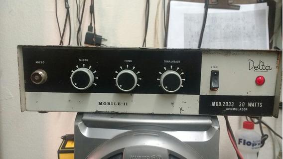 Vendo Amplificador Delta Mobile Ii 30w Rms