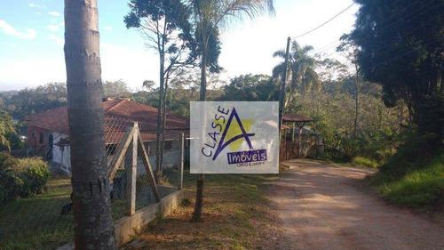 Chácara Com 5 Dormitórios À Venda, 7000 M² Por R$ 670.000 - Jardim Rancho Alegre (ouro Fino Paulista) - Ribeirão Pires/sp - Ch0006