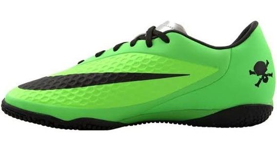 Tenis Nike Futbol Hypervenom Verde/negro - 599849 303