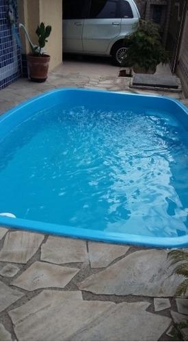 Imagem 1 de 15 de P.praia-sobrado-4 Dorm-2 Suite-piscina-churrasqueira - 500