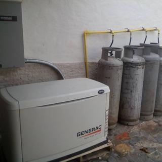 Planta Electrica Generac De 16 Kva Dual A Gas Y Gasolina