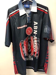 Camisa Del Ajax 97/98 Afc Amsterdam Umbro Camisa De Futbol