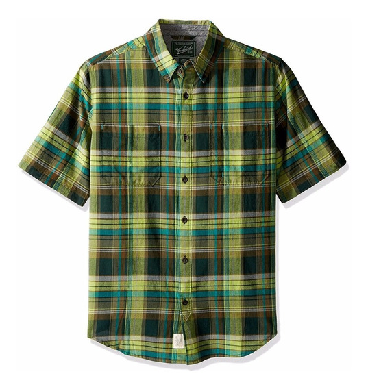 Exclusiva Camisa Woolrich Mountain Green S