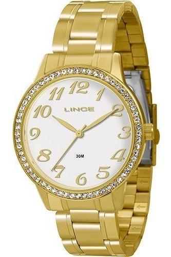Relógio Feminino Lince Original Lrg4234l