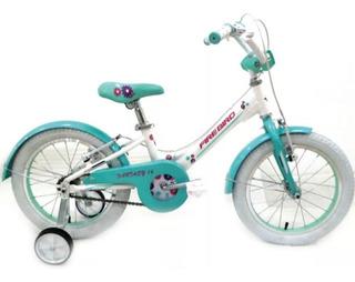 Bicicleta Nena Aluminio Fire Bird Fantasy R16 De 5 A 7 Años